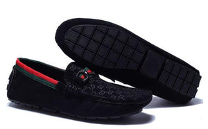 GG Suede Loafers