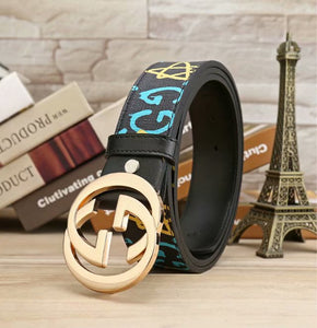 Buckle Special Print Belts