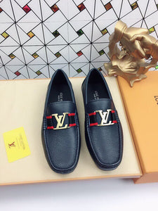 LV Leather Loafers