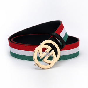 Striped GG Belts