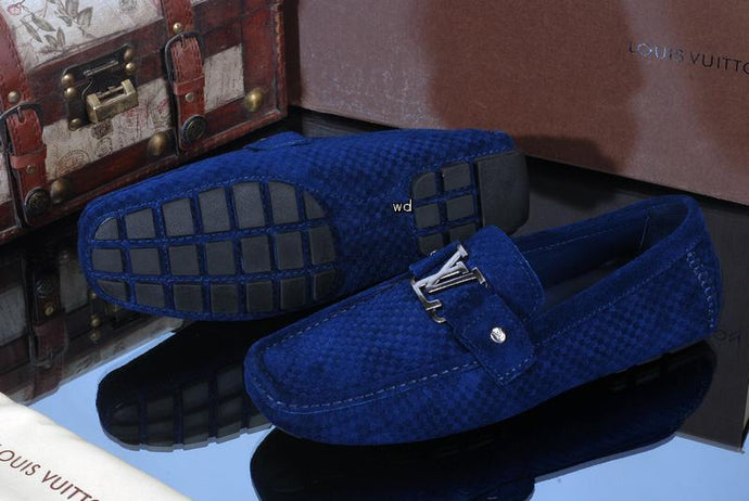 LV Suede Loafers