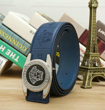 Big Buckle Print Belts