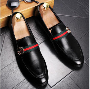 Casual GUCCI Leather Loafers
