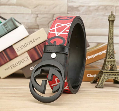 GG Buckle Special Print Belts