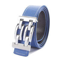 Chain Buckle Leather Belts