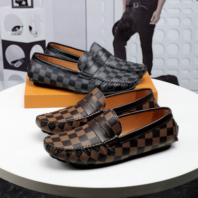Design Leather Loafers