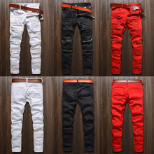 Slim Color Jeans