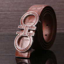 Unique Leather Print Belts