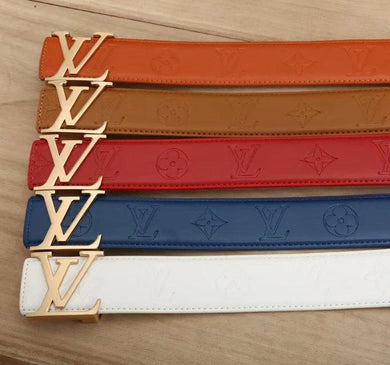 Personality Colors LV Belts