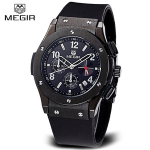Megir Military 24 Hours Function Sport Watches