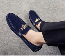 Suede Leather Moccasins