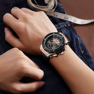 MEGIR Chronograph Luminous Wristwatch