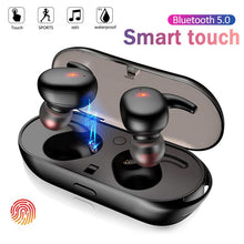 Smart Touch Wireless Headphones