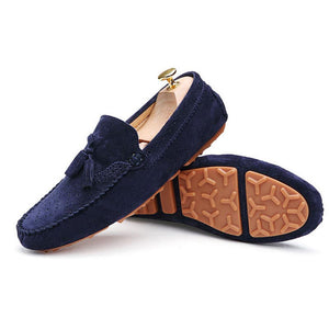 Tassel Leather Driving shoes