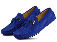 Suede Leather Tassel Moccasins