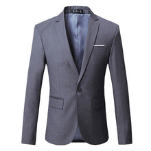Slim Fit Suit Blazer Jackets