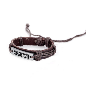 Handmade Braided Leather Bracelets
