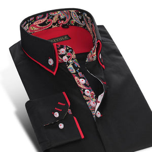 Slim Fit Casual Fashion Shirt