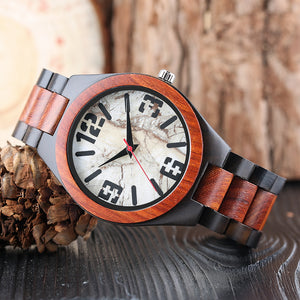 Wooden Novel Wrist Watch
