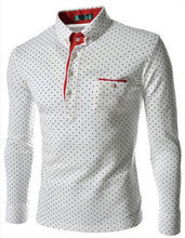 Homme Dots Casual Slim Fit Shirts