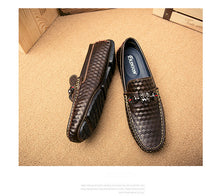 Casual Leather Slip On Loafers