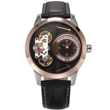 Leather Strap Mechanical Wristwatches