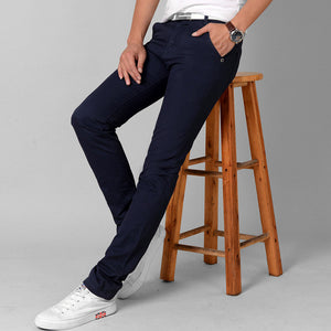 Slim Straight Casual Pants