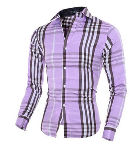 Slim Fit Camisa Casual Shirt