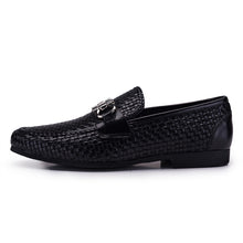 Sipriks Woven Leather Loafers