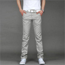 Business Casual Slim Straight Pants