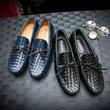 Slip-on Woven Loafers