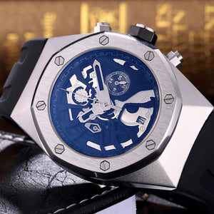 Chronograph Multifunction Geneva Quartz Watch