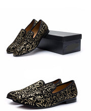 Meijiana Suede Leather Loafers