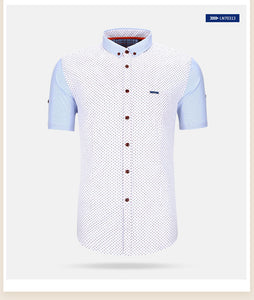 Camisa Homme Casual Button Ups