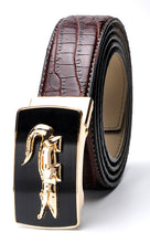 Crocodile Pattern Fashion Belts