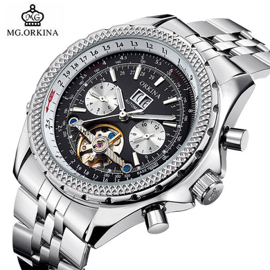 Tourbillion Automatic Wrist Watch
