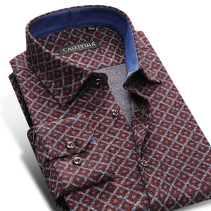 Argy Slim-Fit Premium Brushed Shirts