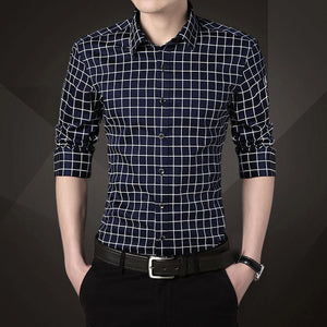 Cotton Grid Shirts