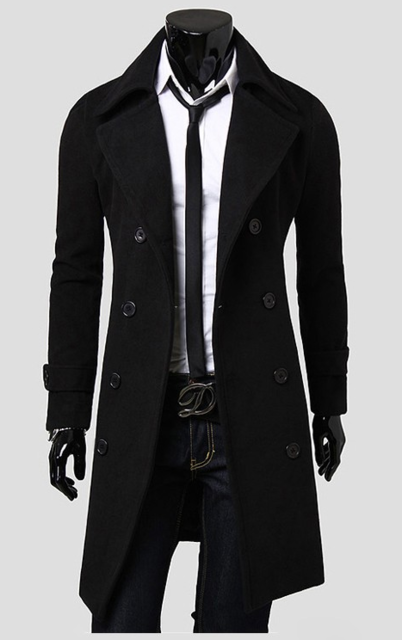 High Fashion Cotton Trench Coat