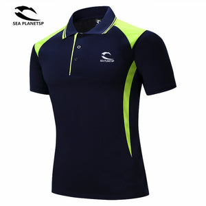Sea Planet Collar Polo