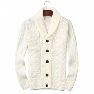 Wool Shan Button Sweater