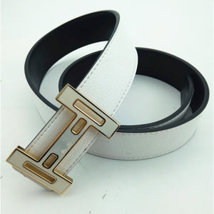 Casual H Buckle Belts