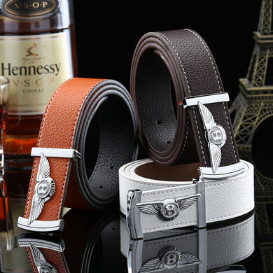 Bentley Buckle Leather Belts