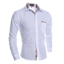 Casual Prints Stitching Shirts