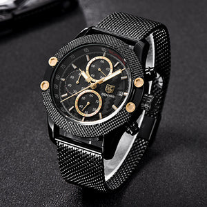 Black Mash Military Watch