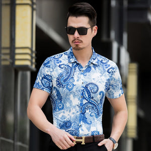 Short Sleeve Unique Design Shirts