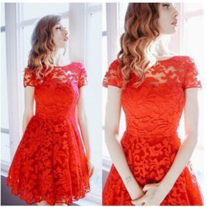 Hallow Lace Dress