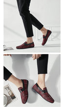 Plaid Fashion Loafers