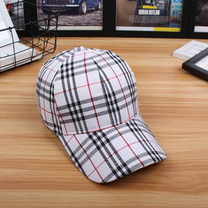 Plaid Cap