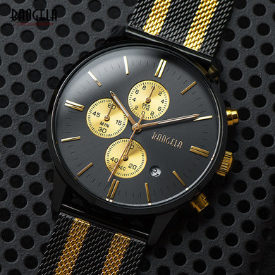 Gold Mesh Business Watches